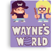 Waynes World TAITO Canvas Print