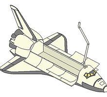 Space Shuttle by kwg2200