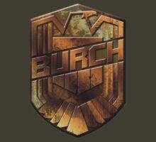 Custom Dredd Badge - Burch by CallsignShirts