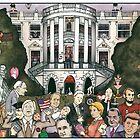 Us presidents at the white house by matan kohn