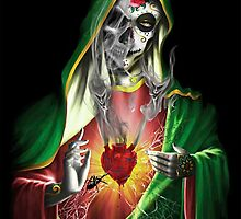 heart, bones , spider and woman by Koalka