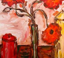POPPIES WITH CANDLES by pjmurphy