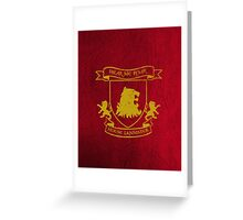 House Lannister Greeting Card