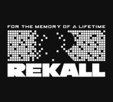 Rekall - Total Recall (White) by Cinerama