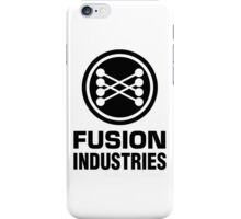 Fusion Industries - Back to the Future (Black) iPhone Case/Skin