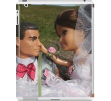 Barbie and Action man on Wedding day iPad Case/Skin