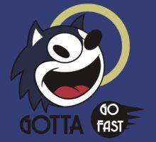Gotta go fast by Marcus Dennis