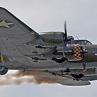 B-17 Flying Fortress Memphis Belle by © Steve H Clark Photography