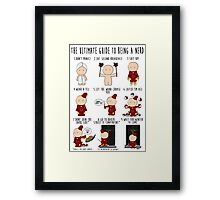 The Ultimate Guide To Being A Nerd Framed Print