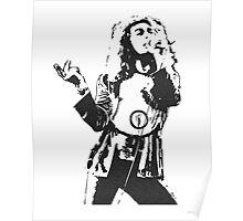 Robert Plant Led Zeppelin Poster