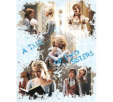 Once Upon a Time - A Tale of Two Sisters Photographic Print