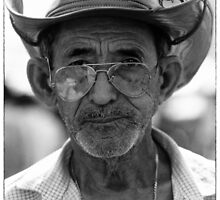 Portrait of an Amazon Indian by JonDelorme