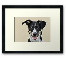 My name is 'Bella' Framed Print