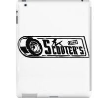 Scooter's Workshop iPad Case/Skin