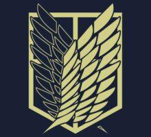 Attack On Titan: Scout Regiment (Blue) T-Shirt
