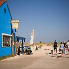 Way to the Beach in Prerow, Germany. by David A. L. Davies