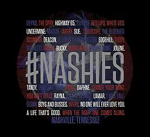 #Nashies - Fans of Nashville! (tote bag) by For The Country Record
