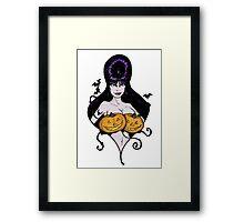 Mistress's Big Pumpkins Framed Print