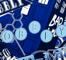 Wibbly Wobbly Timey Wimey... Stuff Sticker