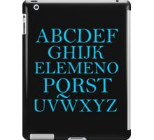 ALPHABET SONG iPad Case/Skin