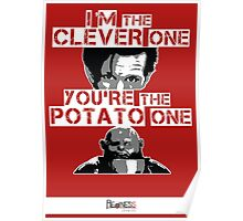 Doctor Who clever potato (poster) Poster