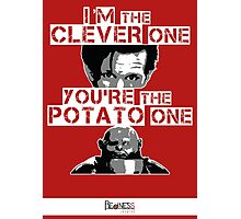Doctor Who clever potato (poster) Photographic Print