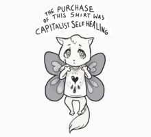 capitalist self healing cat by Jeremyblog