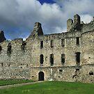 Balvenie Castle, Scotland by hans p olsen