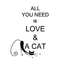 All You Need Is Love & A Cat by OddFiction