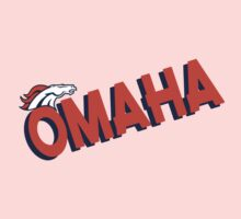 Omaha Broncos Orange Denver Crush  Shirt, Sticker, Cases, Cards, Pillows Kids Clothes