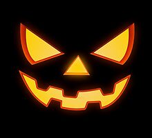 Scary Halloween Horror Pumpkin Face by badbugs