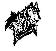 Blue-Rakuen Tribal Wolves by Ouuka
