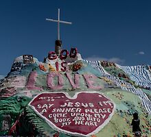 Salvation Mountain by leanderthal