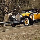 Bay to Birdwood Yellow Packard by Ferenghi
