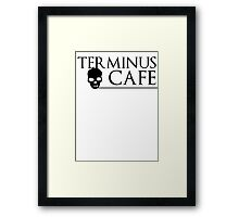 Terminus Cafe Framed Print