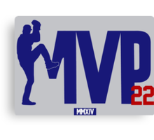 "Clayton Kershaw ""MVP"" Canvas Print"