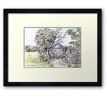 Lake Munmorah Homestead Framed Print