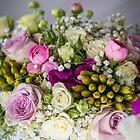 A pretty Wedding bouquet by Elana Bailey