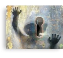 child of the blind Canvas Print