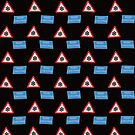 Merry Christmas UK road signs wallpaper by stuwdamdorp