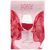 Because he loves her, he drinks out of her used glass when she's gone Poster