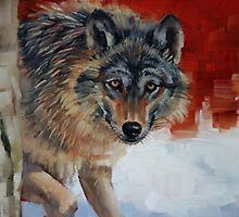 Winter Wolf by Margaret Stockdale