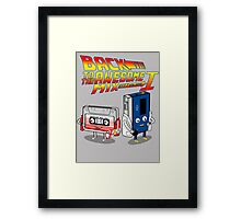 Back to the Awesome Mix Framed Print