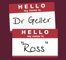 "Dr Geller, ""Ross"" by chubbyblade"