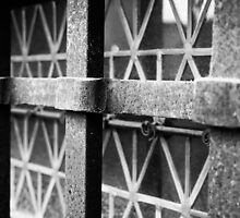 The Barred Window  by MrAnthonyPrice