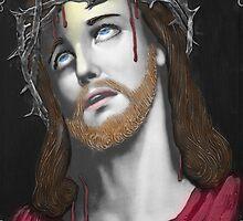 Artful Jesus by Al Bourassa