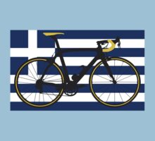 Bike Flag Greece (Big - Highlight) by sher00