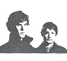 Sherlock and Watson by Sneadypop