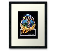 Blue Hen Beer Framed Print