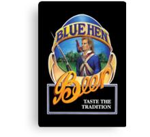 Blue Hen Beer Canvas Print